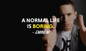 Eminem Quotes And Lyrics About Success And Life