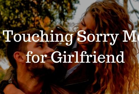 2020 Heart Touching Sorry Messages for Girlfriend