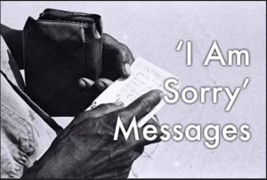 I am Sorry Messages for Him and Her