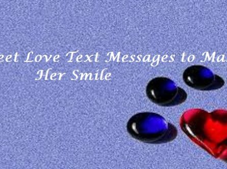 Romantic Messages To Make Her Smile