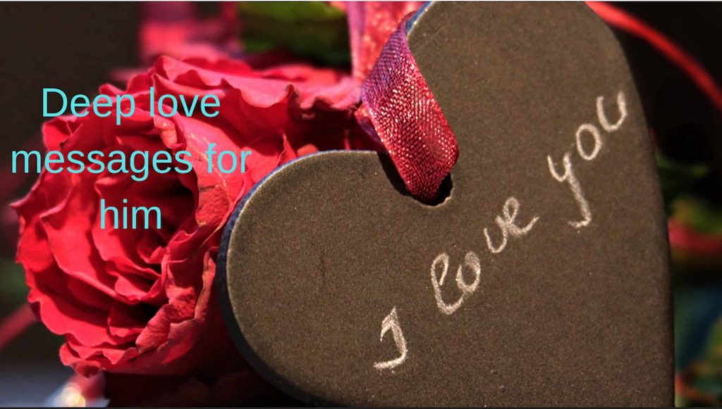 deeper love text message for him