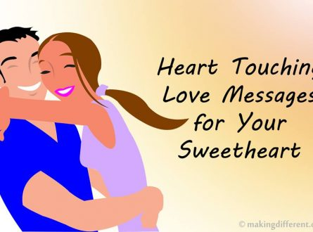 best heart touching messages