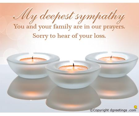 condolences text messages to a friend