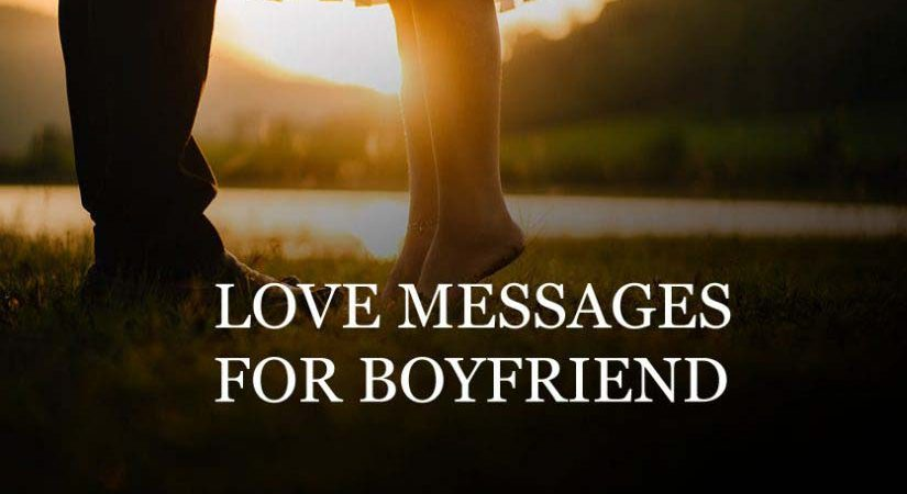 Short Romantic Messages for him