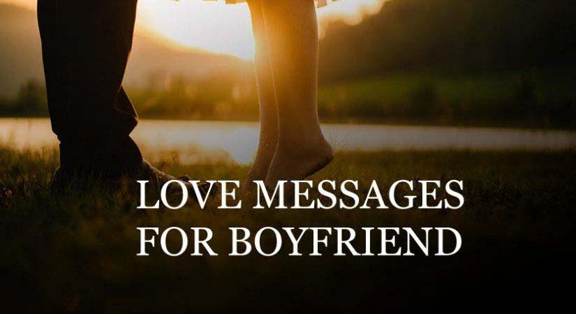 Short Romantic Messages for him