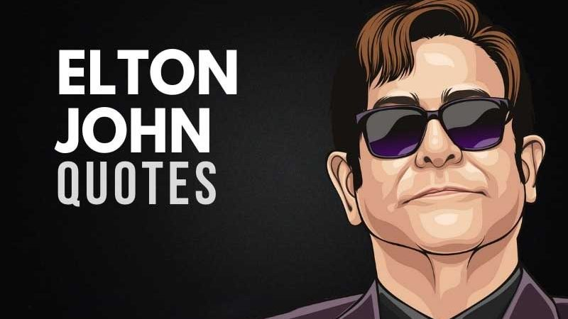 Elton John Quotes About Inspiration