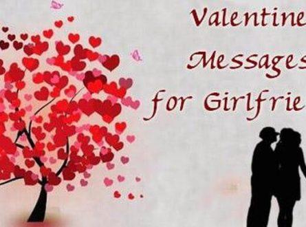 Valentine's Messages for Girlfriend